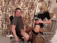 آن مرد دو لذت عوضی را با لذت کلیپ سکس و سوپر ناله کرد